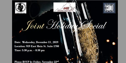 NABA Richmond Joint Holiday Party with AABE & AIM IRS