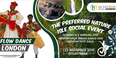 Dominica's Annual 41st Independence 3D Gala- Dance, Debate,Decide