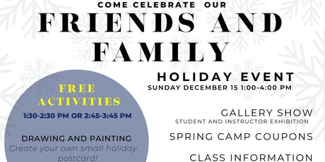 The Artist Lab - Student & Teacher Art Show with Free Holiday Art Classes tickets