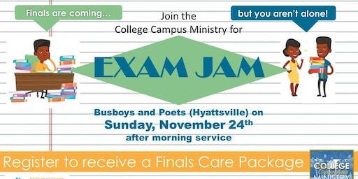 Exam Jam - RSCOGIC College Campus Ministry