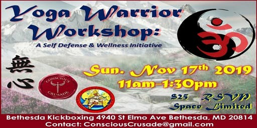 Yoga Warrior Workshop: A self-defense and wellness initiative!