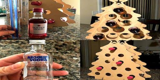 Christmas Wine /Mini liquor tree  $40.00