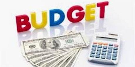 Budget Workshop tickets