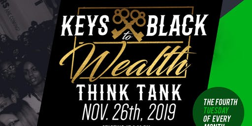 Keys to Black Wealth Think Tank: Psychology of Money