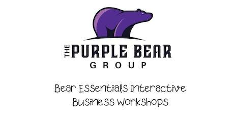 Bear Essentials Interactive Business Workshops tickets