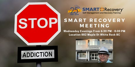 SMART Recovery Meeting White Rock BC tickets