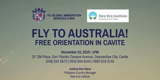 Cavite Branch We Are Giving You A Free Immigration Event Seminar