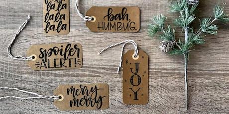 Etsy Calgary: Holiday Handlettering tickets