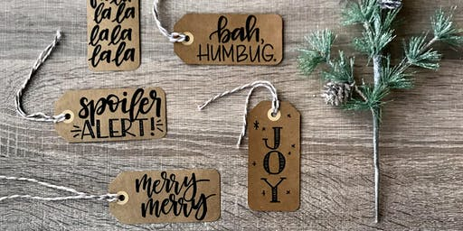 Etsy Calgary: Holiday Handlettering