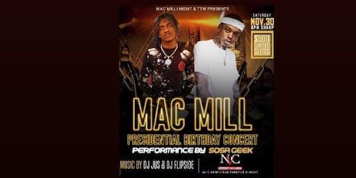 MAC MILL BIRTHDAY CONCERT
