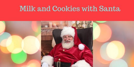Catch the Trolley to Meet Santa for Milk and Cookies
