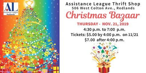 Assistance League Thrift Shop -  Christmas Bazaar