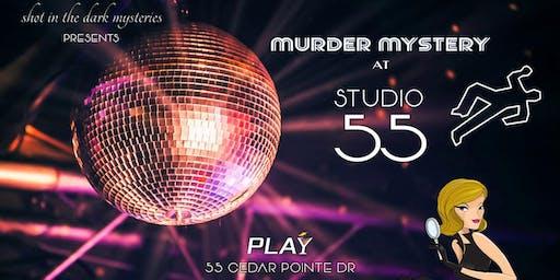 Murder Mystery Dinner and Dance at Studio 55