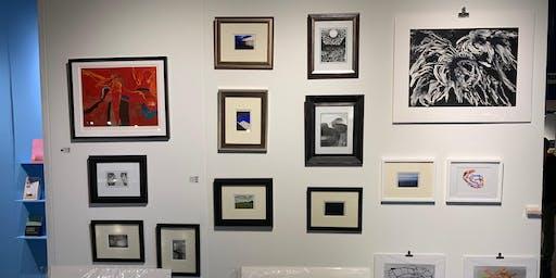 917 Fine Arts  gallery Brickell 12/2019 art show reception