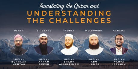 Translating the Quran and Understanding the Challe tickets