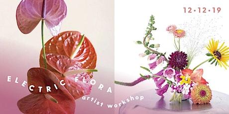 Electric Flora Wreath Workshop tickets