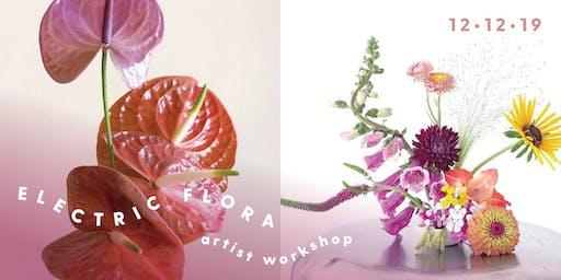 Electric Flora Wreath Workshop