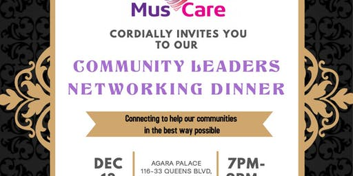 COMMUNITY LEADERS NETWORKING DINNER