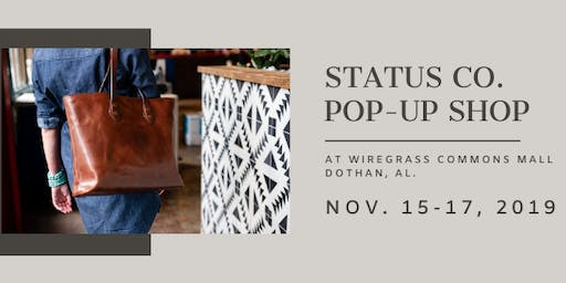 Status Co. Pop-Up Shop at Wiregrass Commons Mall