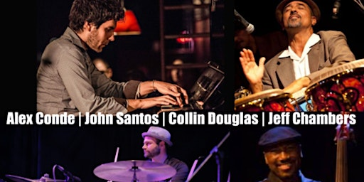 """Alex Conde  W/ Grammy-Nominated Artists Debuts  """"Descarga for Bud Powell"""""""