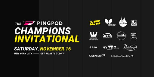 Pro Table Tennis: PingPod Champions Invitational