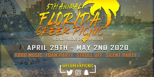 5th Annual Florida Greek Picnic Homed to the World Famous Daytona Beach