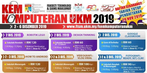 Tshirt design workshop UKM