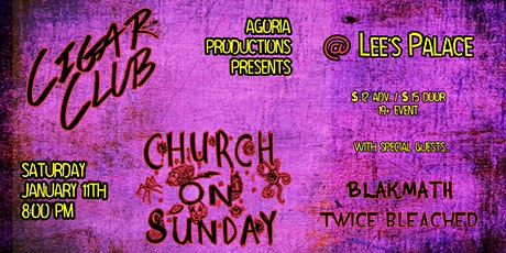 Church On Sunday & Cigar Club at Lee's tickets