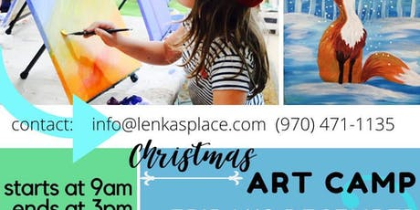 December ART CAMP tickets