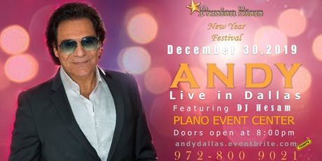 Andy Live in Dallas - New Year Festival tickets