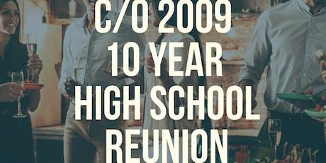 DMHS c/o 2009 10-Year Reunion  tickets