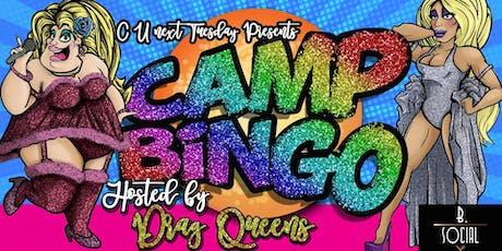 Camp Bingo tickets