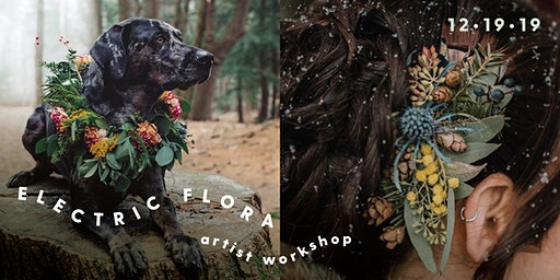 Electric Flora Floral Crown Workshop