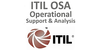 ITIL® – Operational Support And Analysis (OSA) 4 Days Training in Irvine, CA