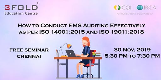 FREE SEMINAR - How to Conduct EMS Auditing Effectively