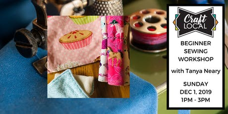 The Twelve Days of Crafting: Beginner Sewing for Zero-Waste Living Workshop tickets