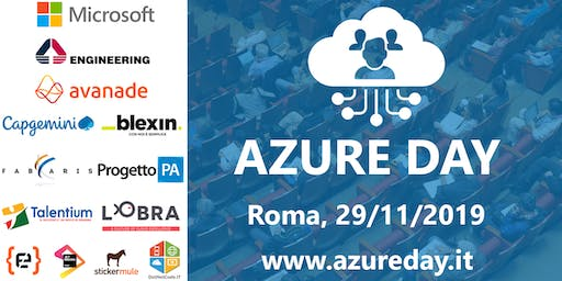 Azure Day Rome 2019 Reloaded