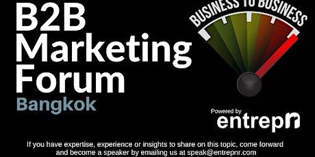B2B Marketing Forum (Bangkok) tickets