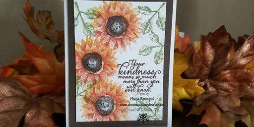 Thursday Class-Stamp & Relax-Vancouver's Stampin' Card Event