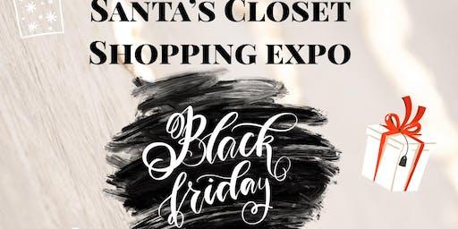 Santa's Closet Vendor Pop Up Shop