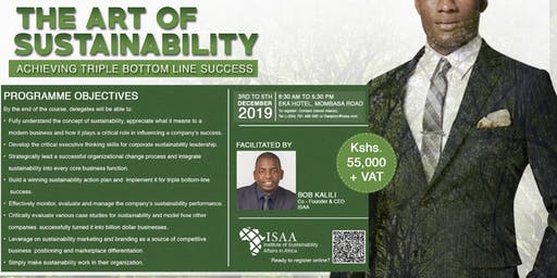 The Art OF Sustainability achieving Triple Bottom Line Success