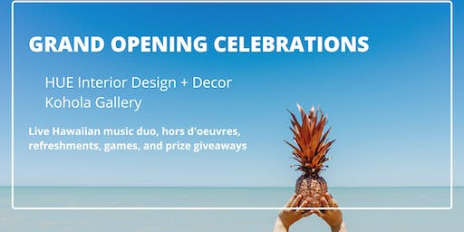 GRAND OPENING CELEBRATIONS AT WAILEA VILLAGE