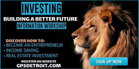 Investing Building A Better Future Workshop tickets