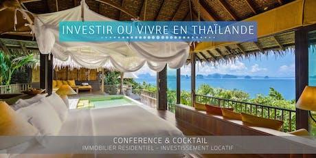LYON - Conférence: Immobilier et Vie en Thaïlande billets