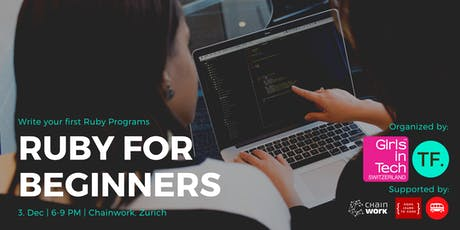 Ruby for Beginners - write your first lines of code Tickets