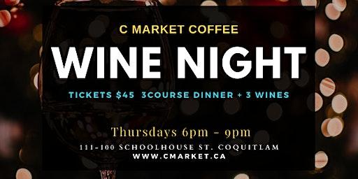 C Market Wine Night Thursdays