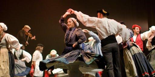 Taller de euskal dantza con Josu Garate ´´´´&  Mikel Urbeltz