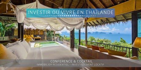 NICE - Conférence: Immobilier et Vie en Thaïlande billets