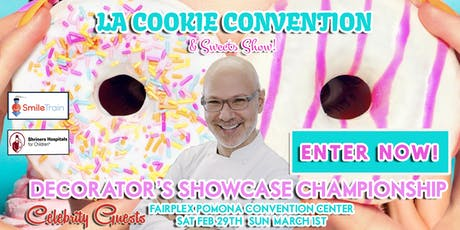 LA Cookie Convention & Sweets Show Decorators' Showcase and Contests 2020 tickets