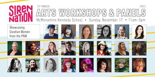 Siren Nation Arts Workshops